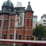 車窓福岡市文学館(赤煉瓦文化館)