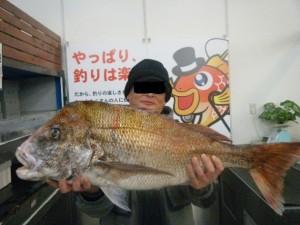 真鯛88㎝・9.5K