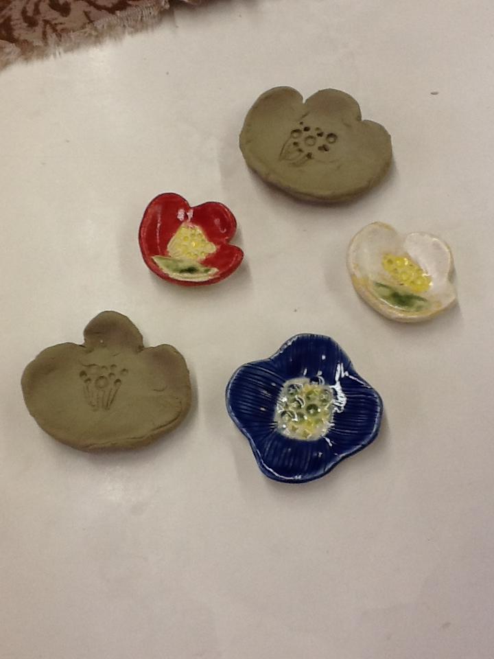 陶芸教室作品