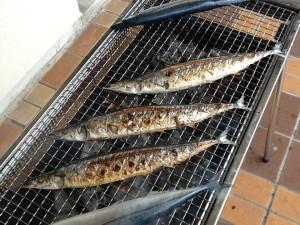 秋刀魚祭り②